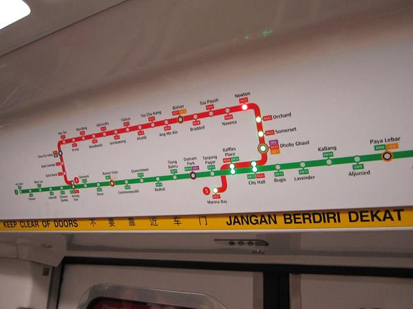 The Circle Line will be completely open by October. (Yahoo! file photo)