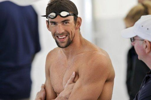 US swimmer Michael Phelps, pictured during a training camp of the US swimming team in Bellerive-sur-Allier, central France, on July 21, six days ahead of the London Olympic Games. Phelps will put the final gloss on a glittering Olympic career at the London Games, but he's not the only star set to shine when competition begins on Saturday at the Aquatics Centre