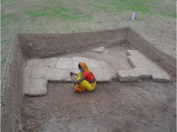 Excavated Laterite Structure of Early Historic Period.
