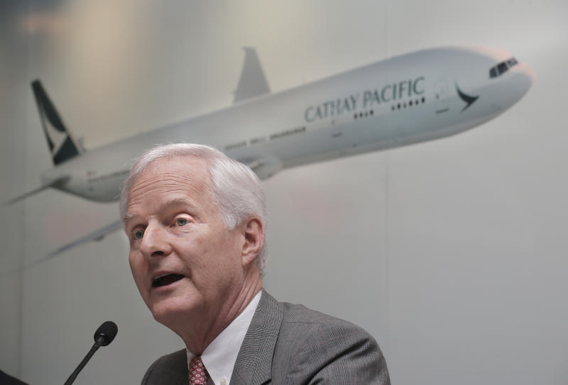 Hong Kong's Cathay posts $262M 1H loss on fierce competition