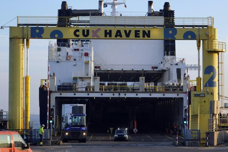 Germany's North Sea port of Cuxhaven is highly dependant upon trade with Britain