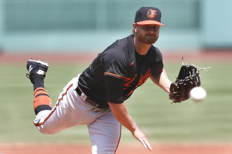 Cobb strong in return to mound, Orioles beat Red Sox 7-2