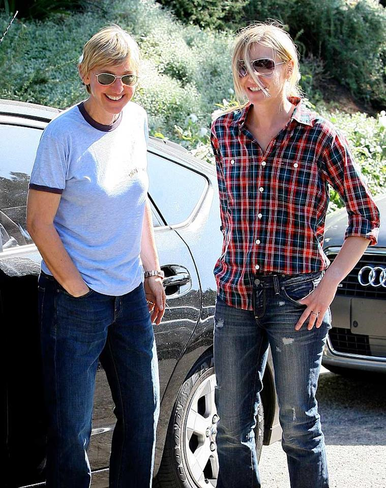 """Are kids in the near future for newlyweds Ellen DeGeneres and Portia de Rossi? LAX-Mariotto/<a href=""""http://www.x17online.com"""" target=""""new"""">X17 Online</a> - October 19, 2008"""