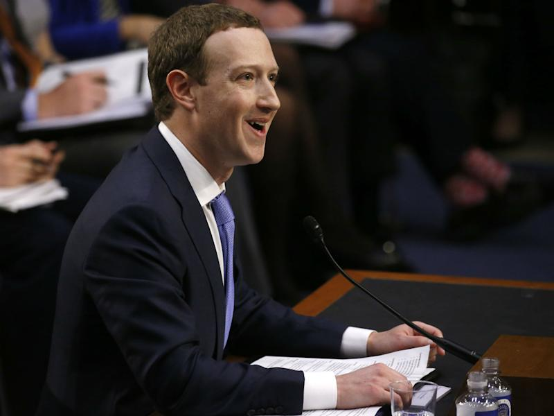 'Despite facing important challenges, our community and business are off to a strong start in 2018', Mark Zuckerberg said in a statement accompanying the earnings report: REUTERS/Leah Millis