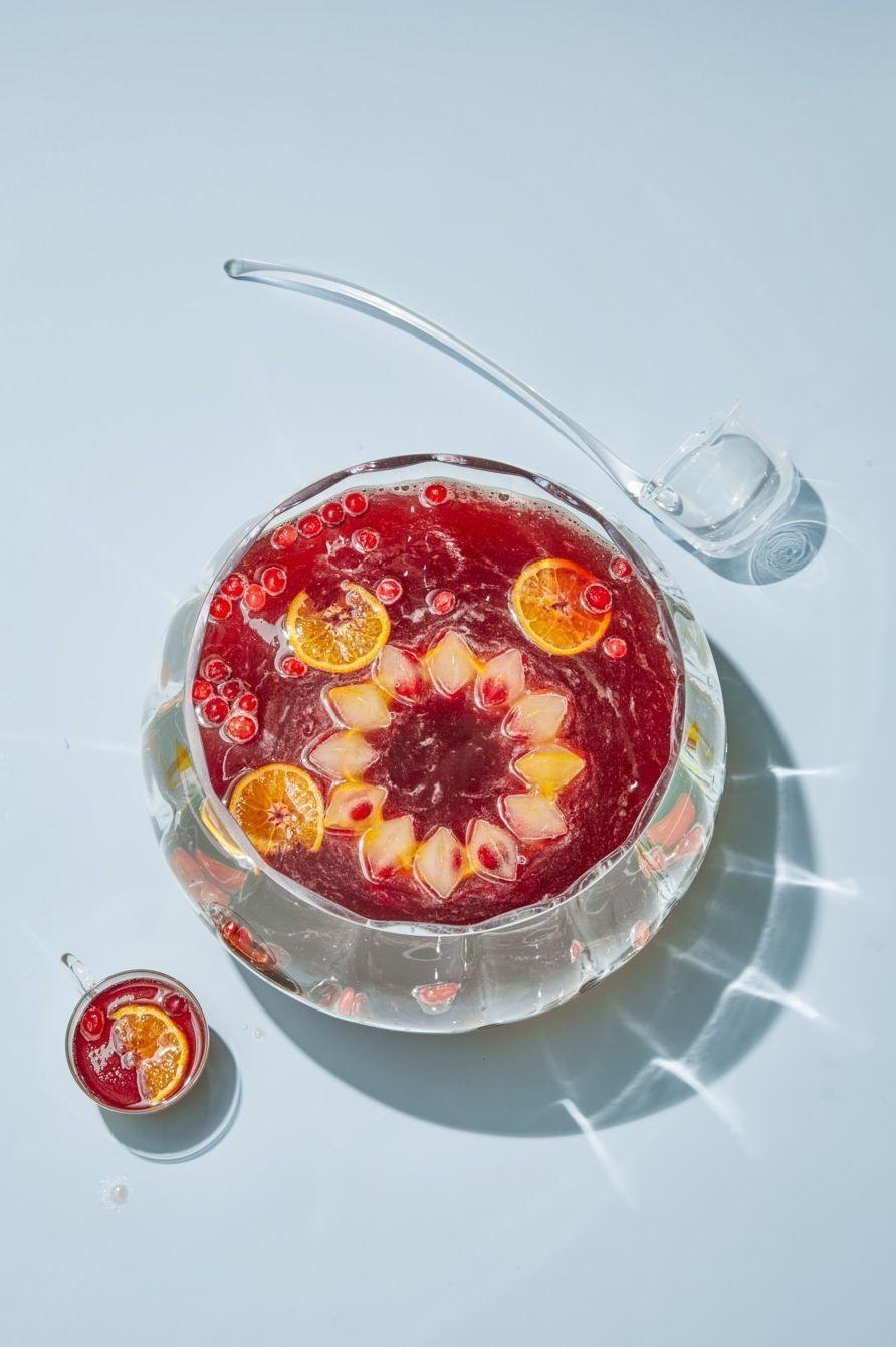 """<p>With cranberries, clementines and gin for good measure, you'll be wanting spoonful after spoonful of this sweet punch.</p><p><em><a href=""""https://www.goodhousekeeping.com/food-recipes/party-ideas/a25097241/cranberry-75-punch/"""" rel=""""nofollow noopener"""" target=""""_blank"""" data-ylk=""""slk:Get the recipe for Cranberry 75 Punch »"""" class=""""link rapid-noclick-resp"""">Get the recipe for Cranberry 75 Punch »</a></em></p>"""