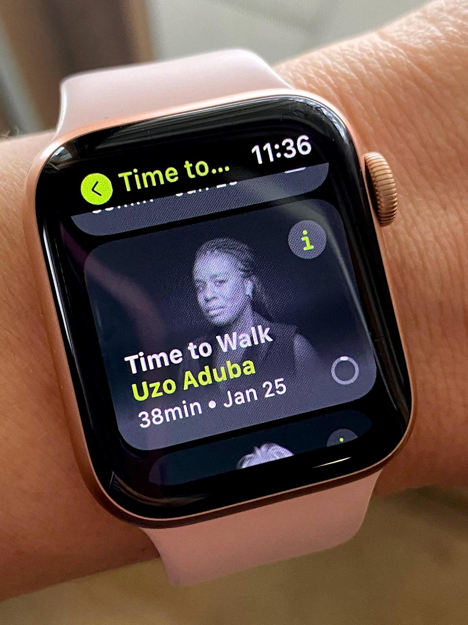 What Is Apple Fitness+ Time to Walk?