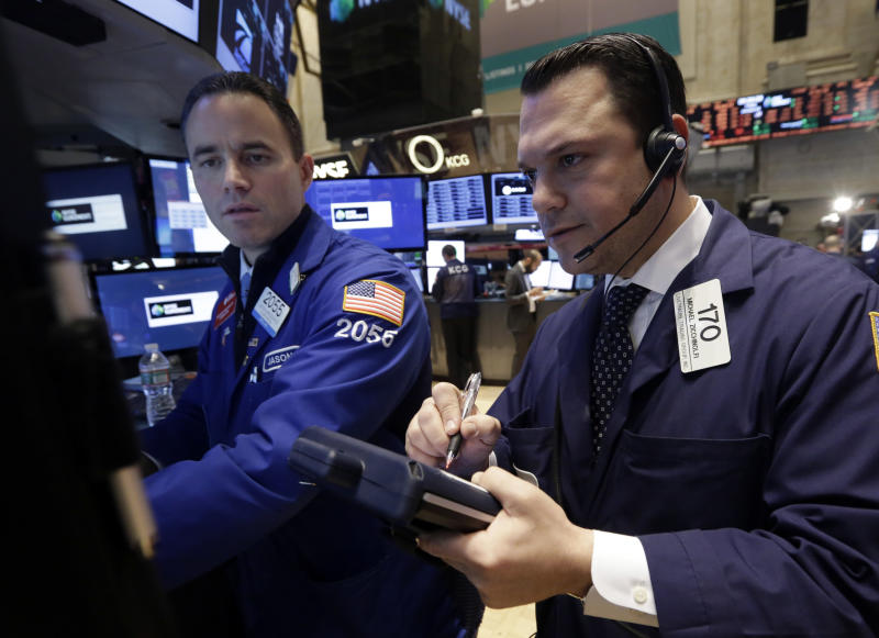 Stocks slump the most in two months on Wall Street