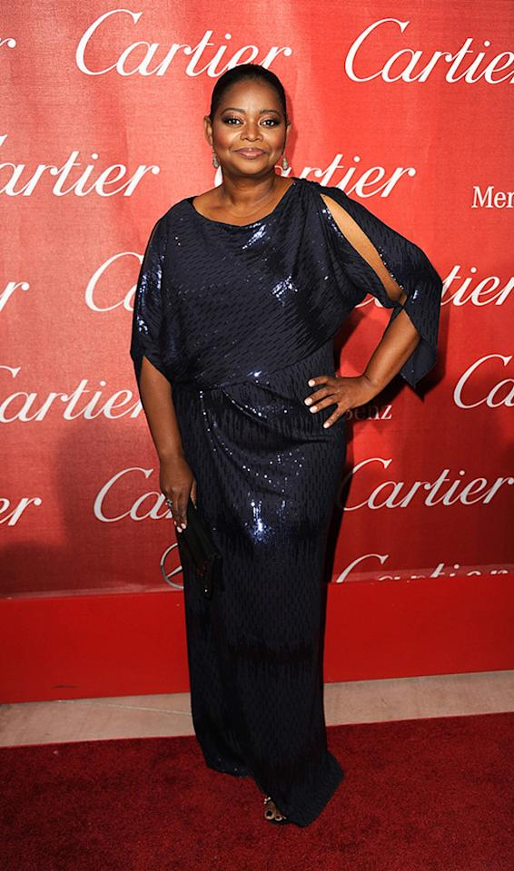 "<a href=""http://movies.yahoo.com/movie/contributor/1800343317"">Octavia Spencer</a> attends the 23rd Annual Palm Springs Film Festival awards gala on January 7,2012."