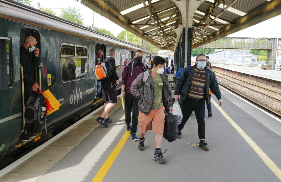 The data shows that users from commuters towns in London saved the most