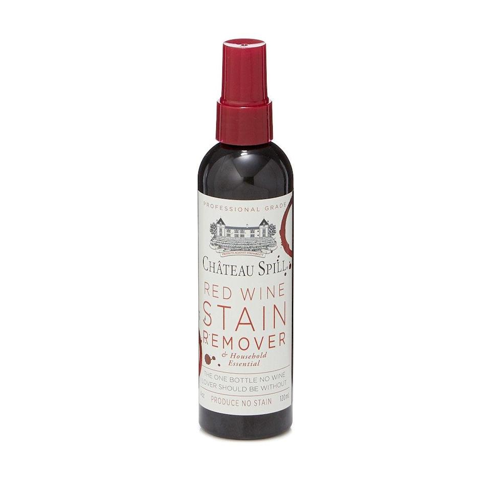 "<br><br><strong>Harry Smail</strong> Red Wine Stain Remover, $, available at <a href=""https://go.skimresources.com/?id=30283X879131&url=https%3A%2F%2Fwww.uncommongoods.com%2Fproduct%2Fred-wine-stain-remover"" rel=""nofollow noopener"" target=""_blank"" data-ylk=""slk:Uncommon Goods"" class=""link rapid-noclick-resp"">Uncommon Goods</a>"