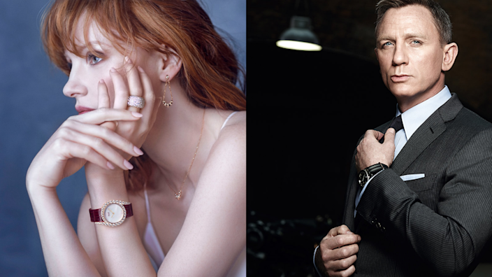 From Lady Gaga to Daniel Craig, here are the luxury watches celebs love.