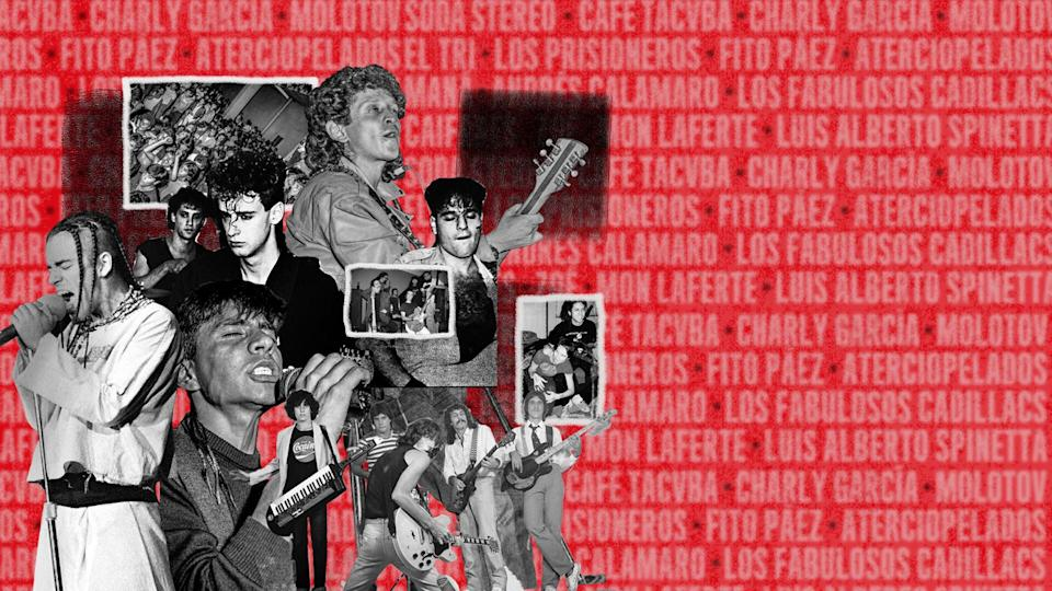 BREAK IT ALL: The History of Rock in Latin America (Photo: Netflix)