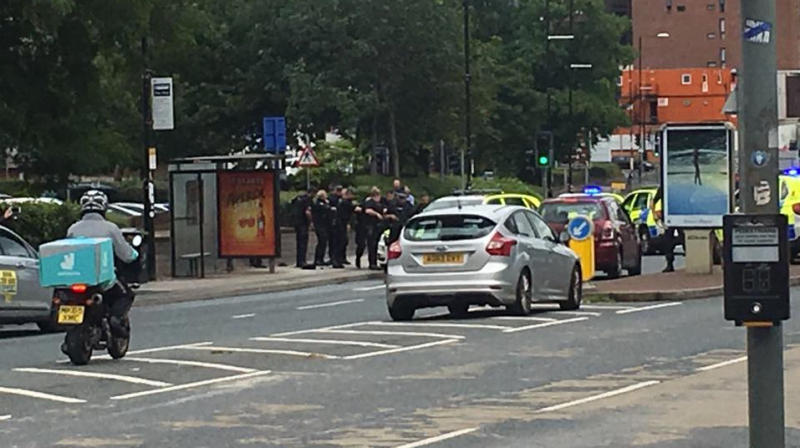 Man with knife and crossbow tasered by police in Manchester