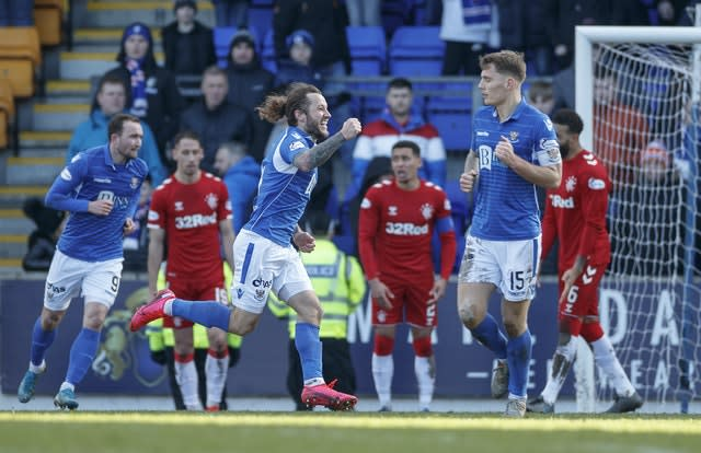 Stevie May denied Rangers (Steve Welsh/PA)