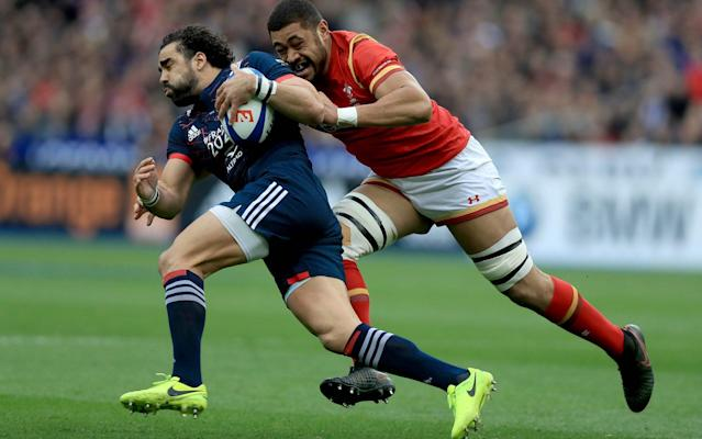 <span>Taulupe Faletau in action for Wales</span> <span>Credit: REX FEATURES </span>