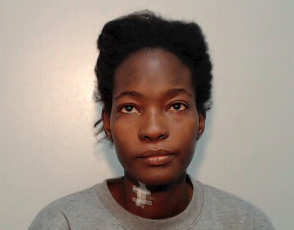 "Awa Zongo was jailed for life for launching a ""barbarous"" attack on her housemate, stabbing her 30 times. (SWNS)"