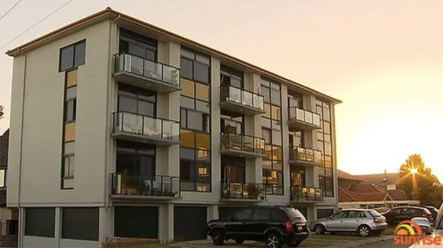 This is the apartment block owned by Bright & Duggan. Photo: Sunrise