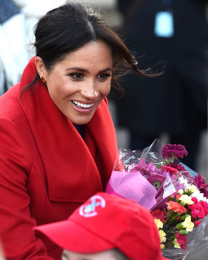 Meghan Markle Takes A Royal Baby Name Suggestion From Girl