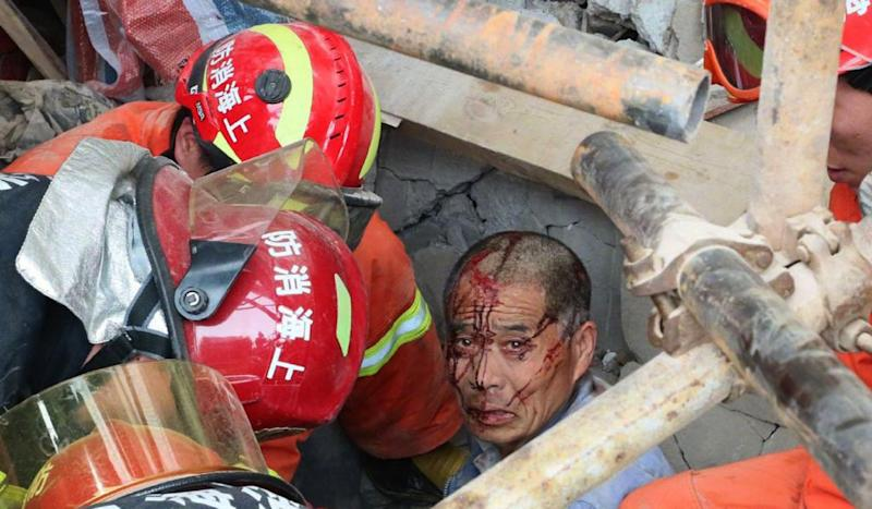 10 killed after building collapses in Shanghai