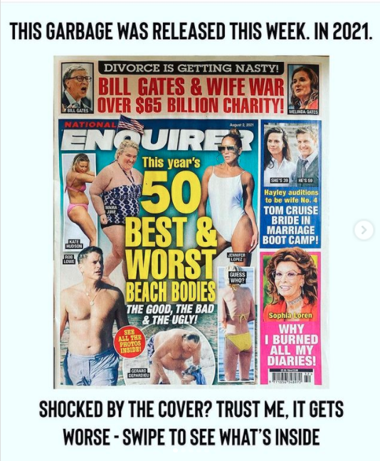 The National Enquirer 50 Best and Worst Beach Bodies