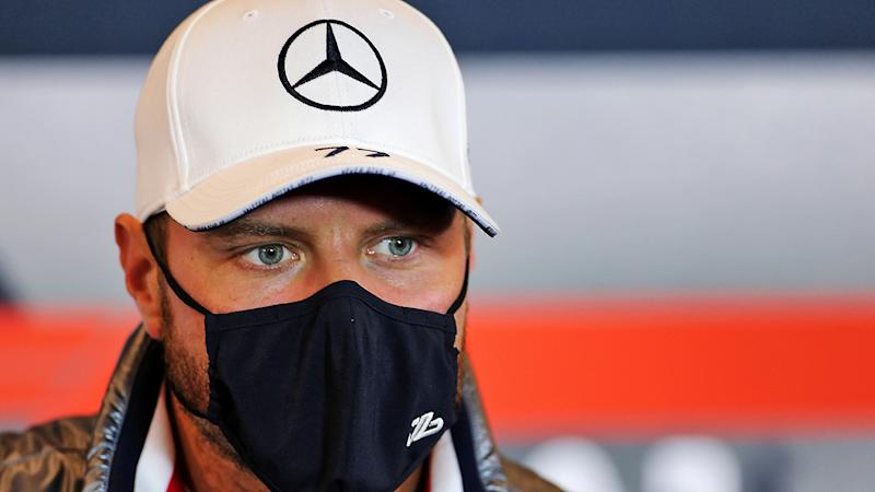 Mercedes driver Valtteri Bottas has expressed concern after a member of the Mercedes team contracted the coronavirus. (Photo by XPB - Pool/Getty Images)