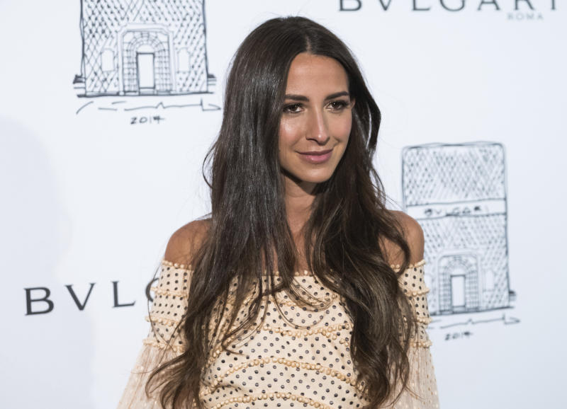 Arielle Charnas attends the re-opening of the Bulgari Fifth Avenue flagship store on Friday, Oct. 20, 2017, in New York. (Photo by Charles Sykes/Invision/AP)