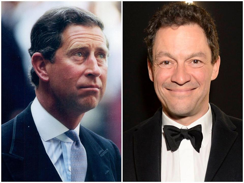 Prince Charles and Dominic West (Rex)
