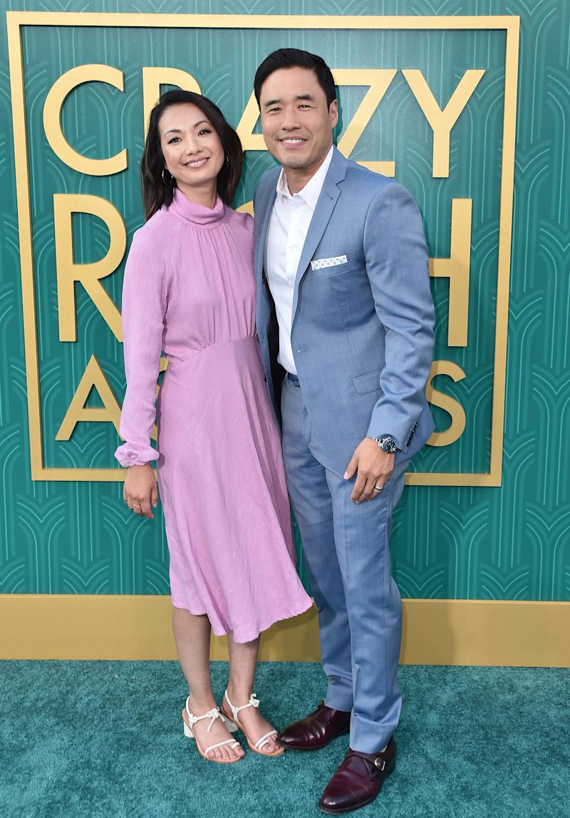 Actress Jae Suh Park and actor Randall Park (Alberto E. Rodriguez via Getty Images)