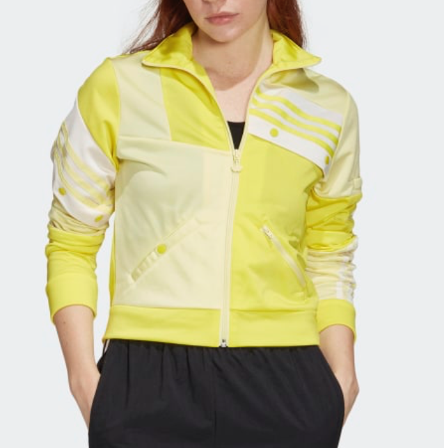 adidas Originals Daniëlle Cathari Track Top in Shock Yellow