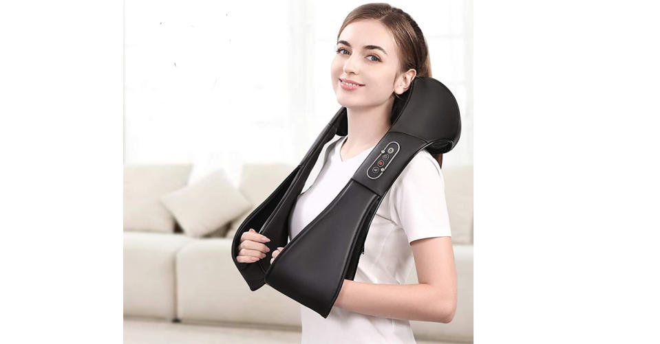 Naipo Shiatsu Back and Neck Massager (Photo: Amazon)