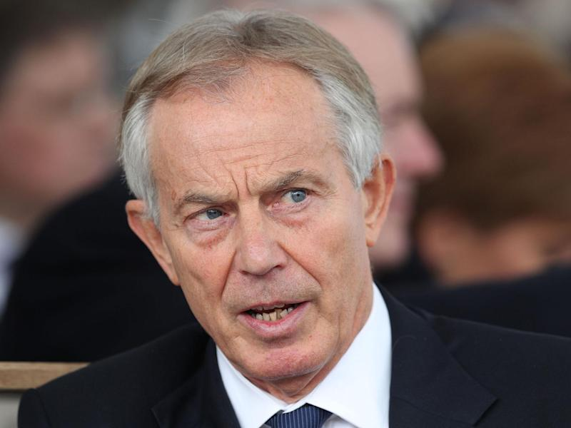 'The political situation is unprecedented and dangerous', Tony Blair said: PA