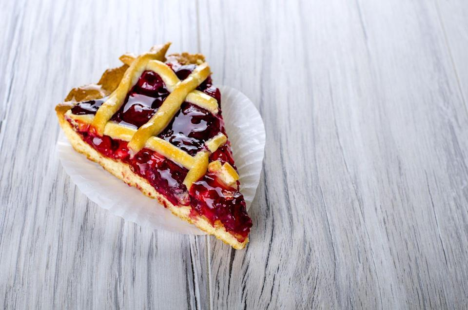 <p>You've got about two days to leave your fruit-centric pies out of the fridge (as long as they are properly wrapped and/or covered). Any cream-based pie absolutely needs to be refrigerated, though. </p>