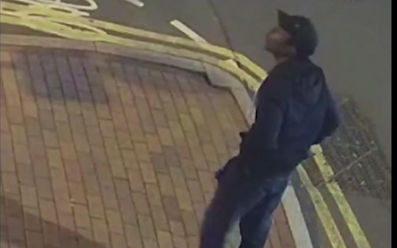 Footage of the suspect was released by West Midlands Police - West Midlands Police