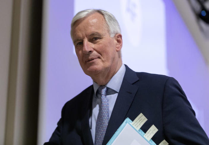 The EU's chief negotiator Michel Barnier has heavily criticised the UK government's approach to negotiations. (Getty)