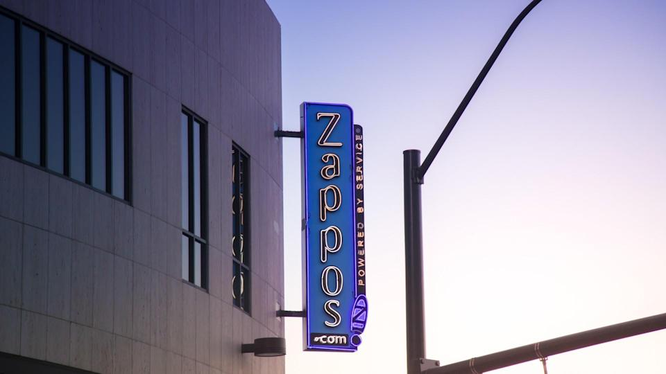 An editorial stock photo of the Zappos.