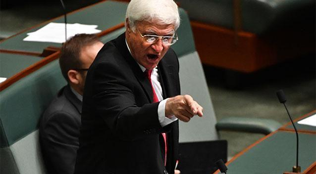 The support of MP's like North Queensland's Bob Katter is crucial to bolstering the Coalition's hold on government. Photo: AAP