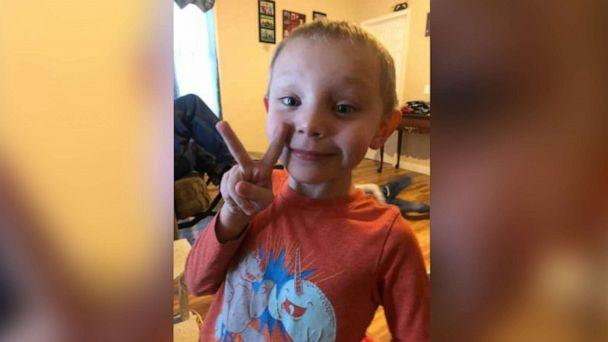 PHOTO: An undated photo shows Beau Brennan Belson, 5, who has been missing from Six Lakes, Mich., since the afternoon of Dec. 25, 2019. (Michigan State Police)