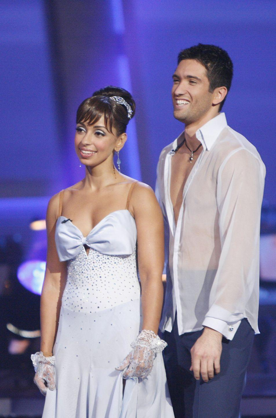 "<p>The singer had a minor setback right before the season nine premiere. She accidentally cut her hand on broken glass and had to go to the hospital to get stitches the night before the premiere episode, <em><a href=""https://okmagazine.com/news/mya-suffers-injury-night-dwts-premiere/"" rel=""nofollow noopener"" target=""_blank"" data-ylk=""slk:Ok Magazine"" class=""link rapid-noclick-resp"">Ok Magazine</a></em> reported. Mya put the minor injury behind her and finished in second place.</p>"