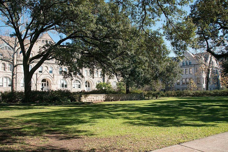 """<p>New Orleans, Louisiana</p><p>Tuition: <a href=""""https://www2.tulane.edu/financialaid/cost/cost-of-attendance-2017-2018-historical.cfm"""" rel=""""nofollow noopener"""" target=""""_blank"""" data-ylk=""""slk:$52,960"""" class=""""link rapid-noclick-resp"""">$52,960</a></p>"""