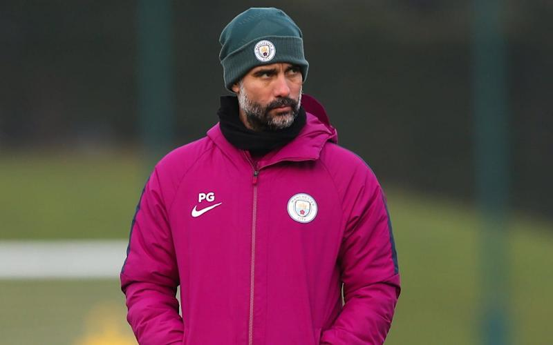 Win or lose at Wembley and we shall not have a booze, says Manchester City manager Pep Guardiola - Manchester City FC
