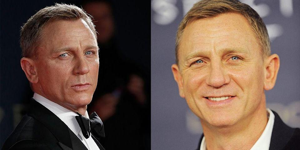 <p>Daniel Craig is the embodiment of his 007 character on the red carpet and brings a stealthy stare to his movie premieres. </p>