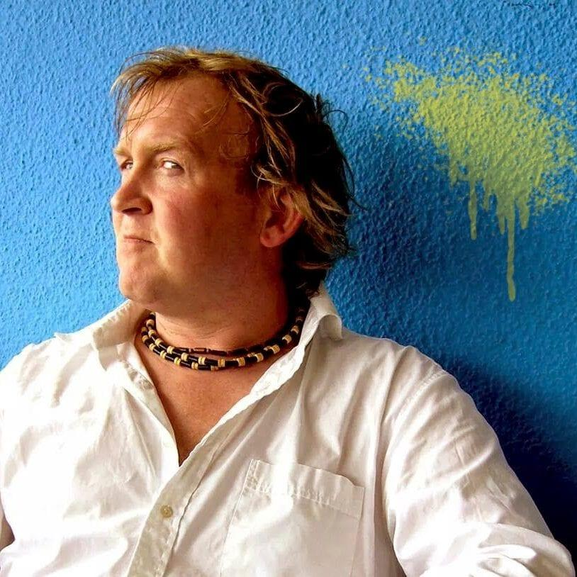 Andrew Gallagher, owner of art licensing company Full Colour Black who have won a copyright dispute with Banksy