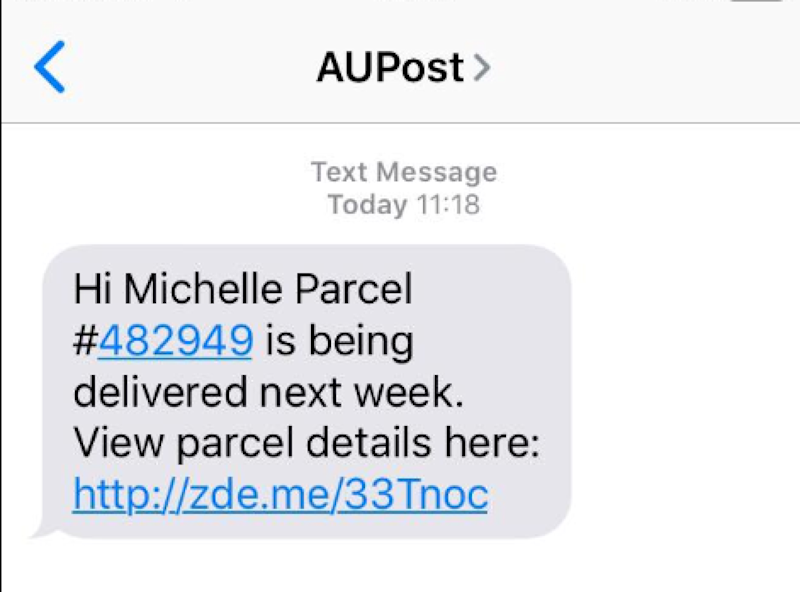 (Source: Australia Post)