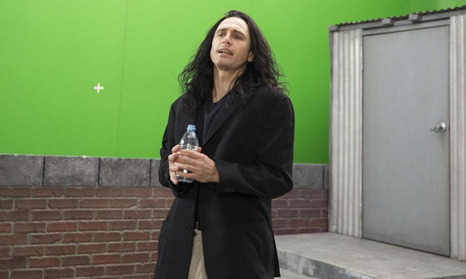 "<p>James Franco retells the story behind the making of the ""'Citizen Kane' of bad movies"" – cult favourite 'The Room'. Gut-bustingly funny and surprisingly moving, 'The Disaster Artist' has many parallels with Tim Burton's 'Ed Wood' in that it invites us to laugh with Tommy Wiseau, as well as it him when he behaves monstrously. (Warner Bros.) </p>"