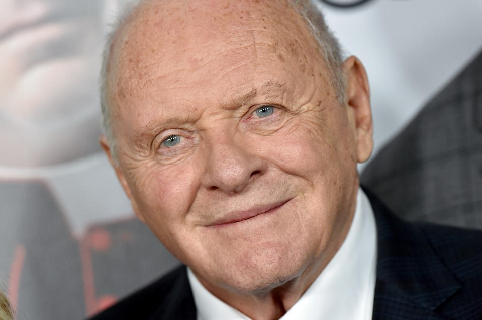 "HOLLYWOOD, CALIFORNIA - NOVEMBER 18: Anthony Hopkins attends the ""The Two Popes"" premiere during AFI FEST 2019 presented by Audi at TCL Chinese Theatre on November 18, 2019 in Hollywood, California. (Photo by Axelle/Bauer-Griffin/FilmMagic)"