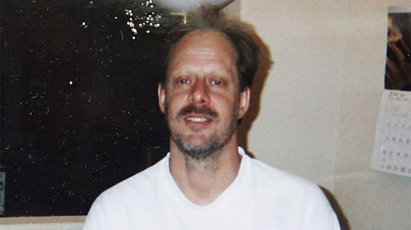 Stephen Paddock gunned down 59 people from inside a Vegas hotel room. Source: Supplied