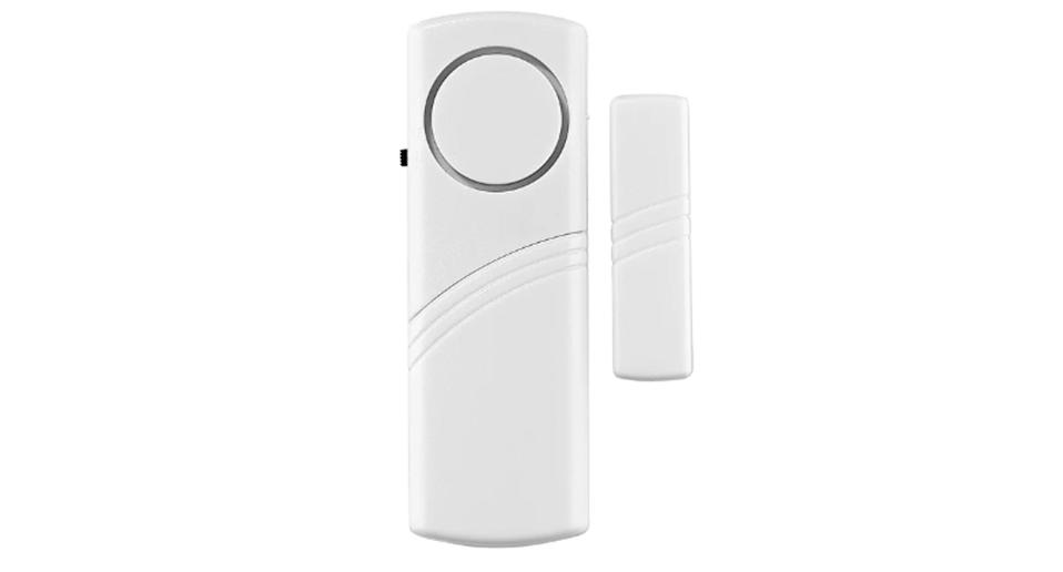 The Arlec Window and Door Magnetic Contact Alarm at Bunnings for $33.25 and sold at other retailers