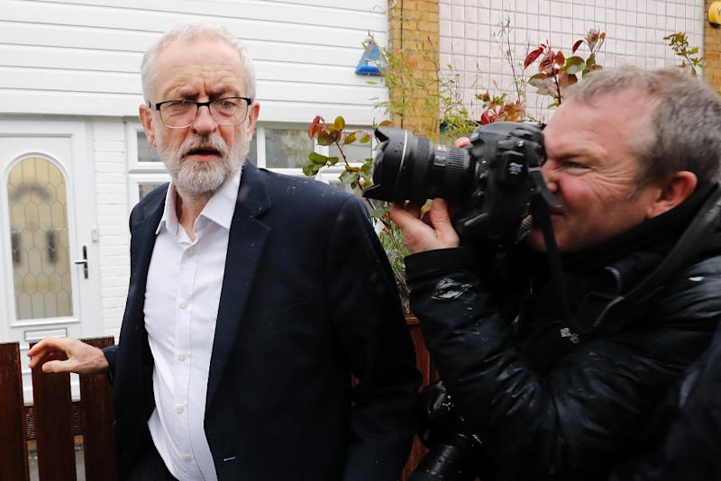Opposition Labour party leader Jeremy Corbyn is under pressure from his own party over the issue (AFP Photo/Tolga AKMEN)