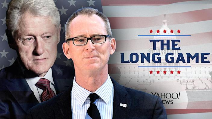 Bill Clinton and former Rep. Bob Inglis. (Photo illustration: Yahoo News; photos: Paul Marotta/Getty Images, AP)