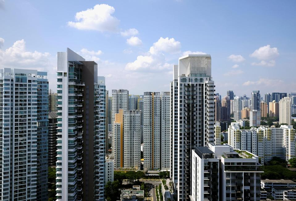 Public and private apartment blocks in Singapore. (File photo: Reuters/Kevin Lam)